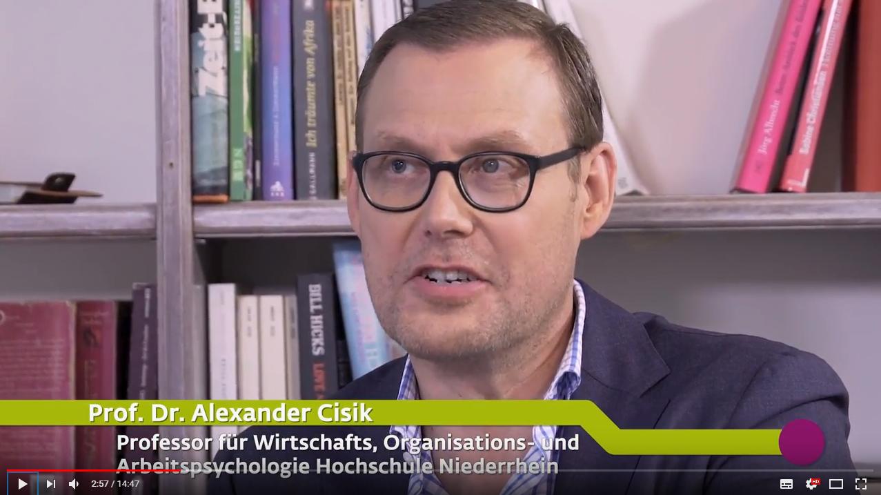 Prof. Dr. Alexander Cisik spricht über attraktive Arbeitgeber.