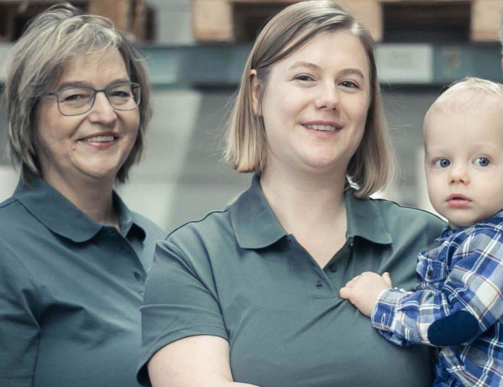 Unternehmerinnen als Superwomen, Andrea, Britta und Leander Berrenbaum