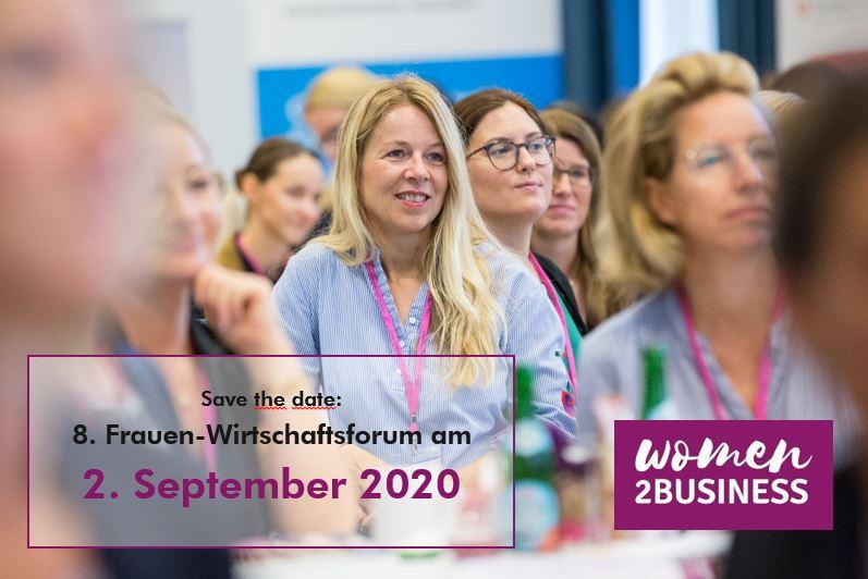 Frauen-Wirtschaftsforum women2BUSINESS