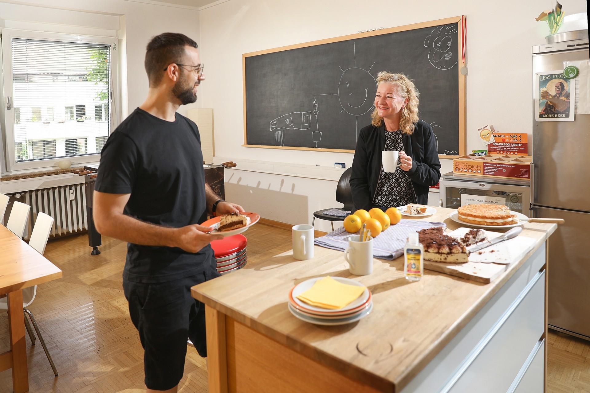 Gemeinschaft in der Küche